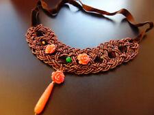 Modeschmuck-Halsketten & -Anhänger aus Stein für Damen für besondere Anlässe