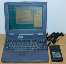 "12,1"" Laptop Notebook Toshiba Satellite 2550CDT 366MHz 5GB 128MB Windows 98 SE"
