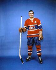 Bernard Boom-Boom Geoffrion Montreal Canadiens Unsigned 8x10 Photo