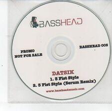 (DS809) Datsik, 3 Fist Style - DJ CD