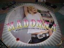 MADONNA-(what it feels like for a girl)-1 POSTER-24X24-NMINT-RARE