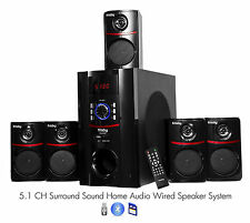 FS5010BT Bluetooth PC Laptop Computer 800 Watt Surround Sound 5.1 Speaker System