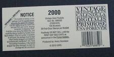 Scott 4754-4763 USPS 2013 Top Stamp Deck Card Vintage Seed Packets Item 688500