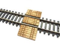 LASER CUT REAL WOOD RAILWAY BARROW CROSSING FOR N SCALE MODEL RAILWAY LX184-N