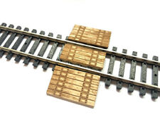 LASER CUT REAL WOOD RAILWAY BARROW CROSSING FOR N SCALE MODEL RAILWAY LX184-N