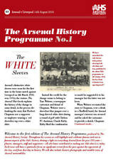 ARSENAL HISTORY PROGRAMME VOL 1 NO.1 - ARSENAL v LIVERPOOL - 14 AUGUST 2016