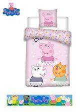 Official Peppa Pig Duvet Set Bedding Set Safe Oeko Tex
