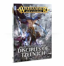 Battletome Disciples of Tzeentch Chaos Daemons Warhammer Age of Sigmar Flipside