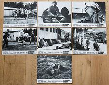7 PHOTOS D'EXPLOITATION : LA GRANDE ÉVASION de JOHN STURGES - STEVE McQUEEN