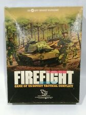TSR SPI Brand Firefight Firefight: Game of US/Soviet Tactical Com (1984) Edition