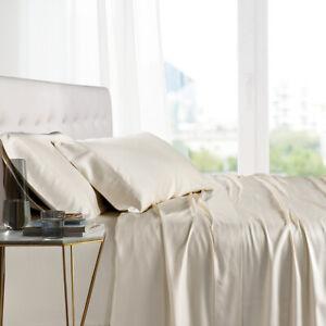 Twin XL Size Bed Sheet Set- 100% Bamboo Ultra Cool Soft 3PC Deep Pocket Sheets