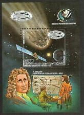 Central African Republic Stamp - Halley's Comet Stamp - NH