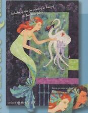 For You My Dear Mermaid Octopus Java House Quilt Pattern Applique