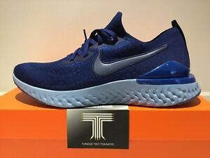 "Nike Epic React Flyknit 2 ""Blue Void"" ~ BQ8928 400 ~ Uk Size 10 ~ Euro 45"