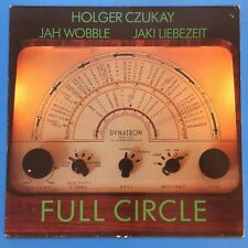 Holger Czukay, Jah Wobble, Jaki Liebezeit ‎– Full Circle LP (Can) 1982 Virgin