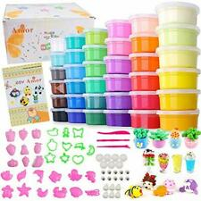 Amor 36 Colors Air Dry Clay Safety Ultra Light DIY Modeling Magic Clay with