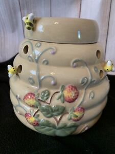 Partylite Bee Hive Tart Warmer Aroma Wax  Melts Candle Holder