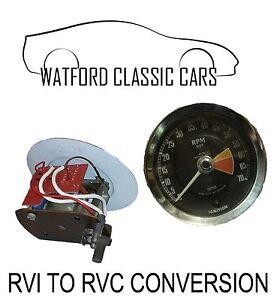 Smiths RVI to RVC  Rev Counter Conversion