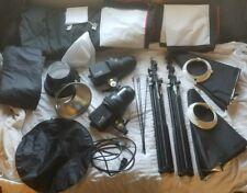 Impact EX100 Ultimate Creative Portrait Kit (120VAC) pro photography setup