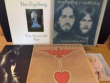 Dan Fogelberg Vinyl Record Lot of 5~Innocent Age~Captured Angel~Netherlands