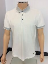 Hugo Boss Orange Polo T Shirt, Size Large, L, White Grey, Vgc