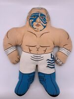 Vtg Plush Sting Wcw Wrestling Champ Buddies Toymax Wrestle Buddy Wwf Wwe 1990