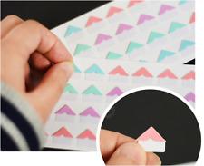40pcs Color Self-adhesive Photo Corner Paper Sticker scrapbook album DIY Decor