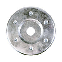 85mm Large Metal Insulation Discs Washers Wall and Ceiling Fixings Plasterboard