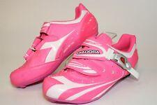 Diadora Womens NEW Size 8 39 Aerospeed 2-3-4 Bolt Indoor / Road Cycling Shoes