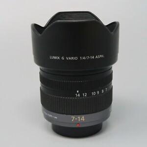 Panasonic Lumix G Vario 7-14mm f/4 AE Aspherical AF ED Lens - Nice!