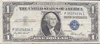 USA 1 Dollar 1935 E Silver Certificate One Banknote Schein Gute Erhaltung #21957