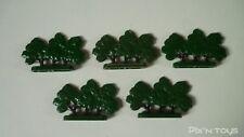 LEGO Legoland Lot de 5 arbres ancien