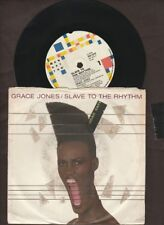 "Grace Jones - Slave To The Rhythm - 1985 7"" picture sleeve single 45rpm"