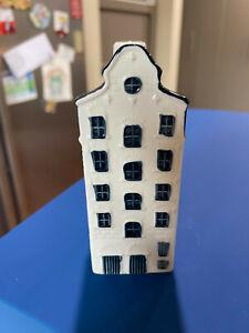 KLM Bols Miniature Blue Delft House #33 Holland 2006 Unsealed