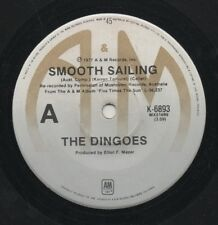 "THE DINGOES   Rare 1977 Aust Only 7"" Mint OOP Prog Rock Single ""Smooth Sailing"""