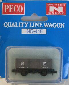 Peco N Gauge NR-41E LNER Grey 10T 7 Plank Coal Wagon 603436 Unused
