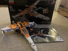 Lego Star Wars Poe Dameron's X-wing Fighter Set 761 Pieces (75273)  Complete Set