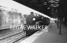 BRITISH RAIL RAILWAY STEAM PHOTO 1960'S - STANDARD 5 73113 AT BASINGSTOKE 1964