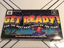 NINTENDO 64 LAUNCH VHS TAPES DIDDY KONG RACING 1997 Rare HTF Collectible Promo