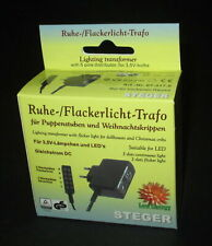 Steger Continuous and Flickering Light for Nativity Scenes - 3,5Volt Neu