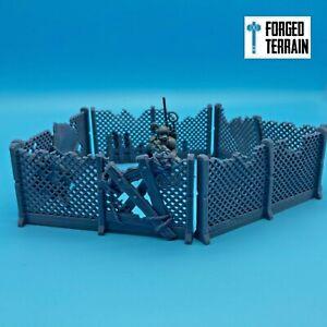 Wire Fences  - Scatter Terrain, SciFi, Scenery