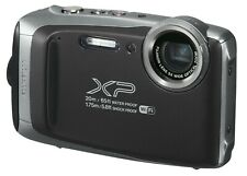 Fujifilm FinePix XP135 16.4MP 5x DARK SILVER Waterproof [Certified Refurbished]