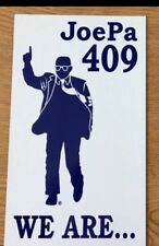 Joe Paterno Statue Image on a Car Magnet 409 WE ARE Penn State - White