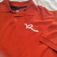 VTG Rocawear Polo Shirt Mens XL Orange Cotton Urban Street
