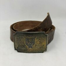 Vintage Old Style Beer Belt Buckle Lewis Buckles Mens
