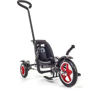 MOBO Mobo Kids' Rockabilly Tot Roll-to-Ride Three-Wheeled Cruiser