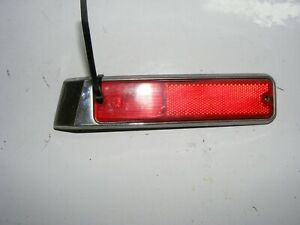 Jeep Grand Wagoneer  Right Passenger Rear  Signal Side Marker Light Lens