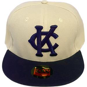 Kansas City Monarchs Fitted Hat Negro Leagues Jackie Robinson Satchel Paige