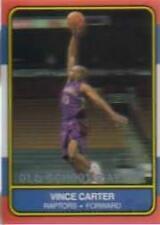 2000-01 Fleer Toronto Raptors Basketball Card #NNO Vince Carter OSR Sticker