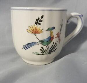 Oiseaux de Paradis v. Gien , Kaffeetasse Ø 7 cm , Höhe 7 cm